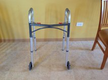 Standard Walker with front wheels (adjustable height) in Plainfield, Illinois
