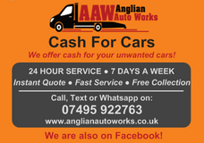 WANTED - YOUR OLD CARS - Scrap Cars - Used Cars - Non Runners - Accident Damaged - Junk Cars in Lakenheath, UK