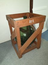 Vintage Demijohn Crates Solid Wood in Ramstein, Germany