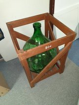 Vintage Demijohn Crates Solid Wood Extra Large in Ramstein, Germany