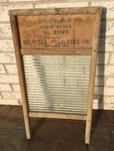 Vintage Columbus Standard Family Size Washboard in Chicago, Illinois