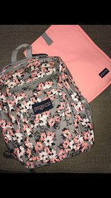 Jansport Backpack with accessory in St. Charles, Illinois