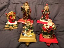 Christmas stocking holders in Chicago, Illinois