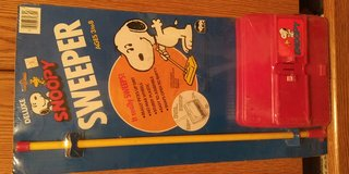 ONE in a million SNOOPY Deluxe Sweeper in package in Yucca Valley, California