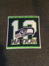 "SEATTLE SEAHAWKS 12th NATION IRON ON PATCH (6""x6"") *** NEW *** in Fort Lewis, Washington"