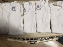 """5 like new Fruit of the Loom white tanks """"wifebeaters"""" kids large in Plainfield, Illinois"""
