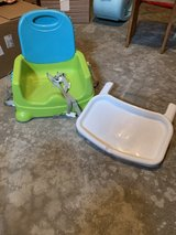 Fisher Price portable high chair seat in Sandwich, Illinois