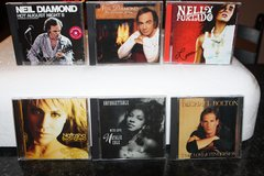 Over 196 Music CD's from 1970's 1980's & 1990's $5 each in Spring, Texas