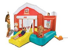 Fisher Price Barnyard Bouncer (home bounce house for Toddlers) in Wiesbaden, GE