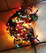 Christmas Lights (3 Strands) in Ramstein, Germany