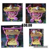 Beauty and the beast tea cart in Orland Park, Illinois