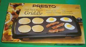New Presto Cool Touch Electric Griddle in Aurora, Illinois