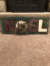 Noel Sign in Plainfield, Illinois