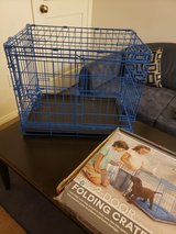 Small folding dog crate in Conroe, Texas