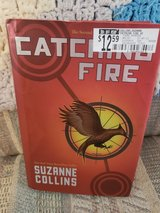 Catching Fire by Suzanne Collins,  Book #2 of the Hunger Games series., Hardcover, LNC in Byron, Georgia