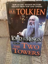 The Lord of the Rings Part 2:  The Two Towers by J.R.R. Tolkien, Paperback, VGC in Byron, Georgia