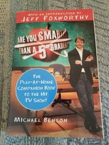 Are You Smarter than a 5th Grader by Michael Benson, Intro by Jeff Foxworthy Paperback, LNC in Byron, Georgia