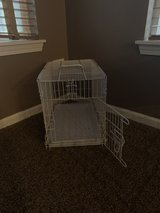 Small dog cage in Yorkville, Illinois