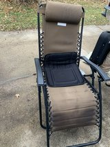Folding chair in Yorkville, Illinois