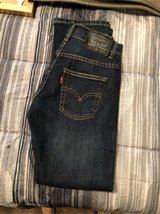 boys Levi jeans size 10 slim in Macon, Georgia