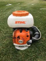 STIHL SR200 GAS BLOWER WITH MIST TANK FOR SPRAYING MOSQUITO PLANT VEGETATION WHAT EVER GREAT SHAPE in Yorkville, Illinois