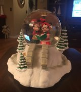 Mickey & Minnie Snowglobe in Naperville, Illinois