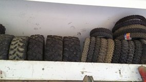 Tires in 29 Palms, California