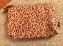 Leopard Print Cosmetic Bag in Yorkville, Illinois