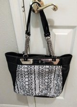 (Jennifer Lopez) Snakeskin Genuine Leather Tote Purse in Conroe, Texas