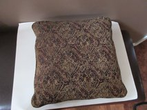 2 New Large Ashley Tapestry Decorative Pillows in Fort Campbell, Kentucky