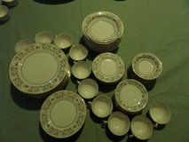 """China Dishes Minuet PINK SILVER GOLD Service for 10 """"$3.00 A PIECE"""" in Alamogordo, New Mexico"""