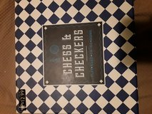 Chess and checkers game brand new in Plainfield, Illinois