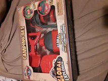 Toy camping set in Plainfield, Illinois