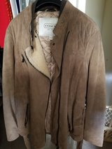Coach Suede Leather Jacket XL New with Tags in Fort Campbell, Kentucky