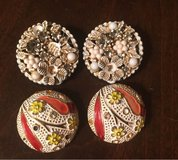 2 Pairs of Clip Earrings in Joliet, Illinois