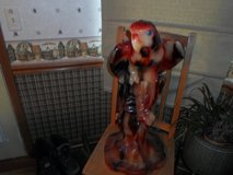Large Parrot Candle in Sandwich, Illinois