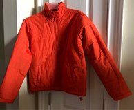 Juniors Orange Jacket size 12/14 in Fort Benning, Georgia