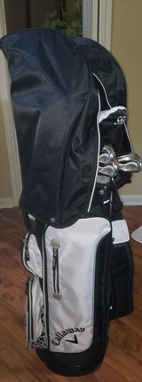 CALLAWAY SOLAIRE 11PC WOMENS - GOLF CLUBS (lefty) in Spring, Texas