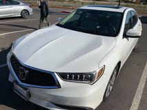 2018 ACURA TLX, BRILLIANT WHITE, 4-DOOR,sedan,automatic,with GPS, surround-sound.leather-seats, ... in Fort Lewis, Washington