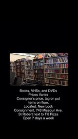 Lots of VHS's in Fort Leonard Wood, Missouri