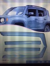NEW Rain/Wind Guard Visors for JEEP Renegade in Fort Campbell, Kentucky