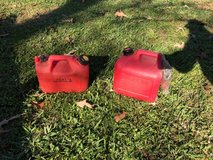 2 small gas cans in Spring, Texas