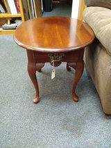 Cherry Oval Side Table in Naperville, Illinois