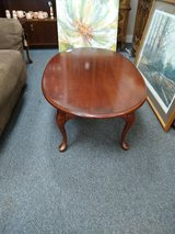 Cherry Oval Coffee Table in Naperville, Illinois