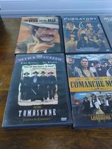 6 Western DVDs in Yucca Valley, California