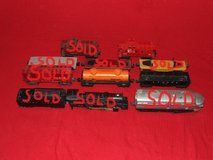 LIONEL O Scale Train Set Assortment Cars Cabooses & More in Lockport, Illinois
