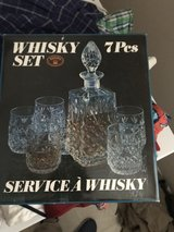 Bohemian Crystal Whiskey set in Fort Campbell, Kentucky