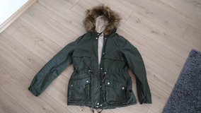 Winter Jacket, green, like new in Wiesbaden, GE