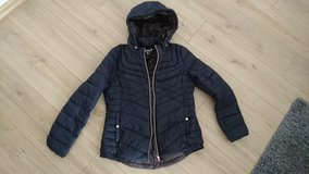 Winter Jacket, dark blue, like new in Wiesbaden, GE