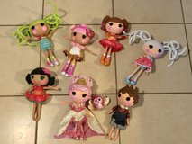Large Lot of 11 Full Size Lalaloopsy Dolls EUC in Travis AFB, California